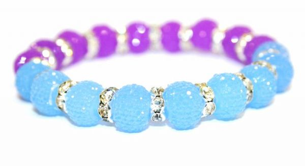 10 pieces x 14mm*10mm Jelly turquoise diamond acrylic beads S.F/H - DAB005-14